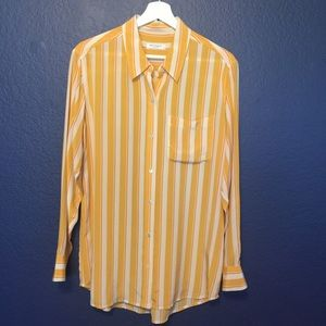 EQUIPMENT FEMME Silk Button Down Shirt